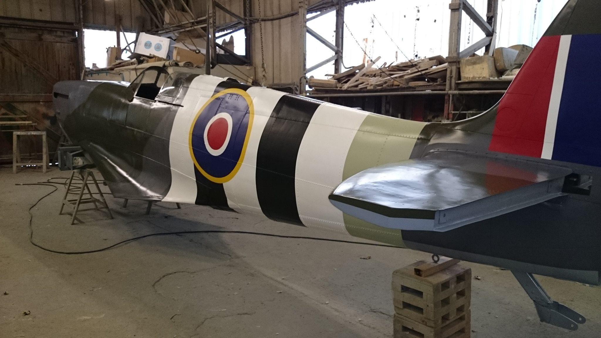spitfire memorial essex ontario